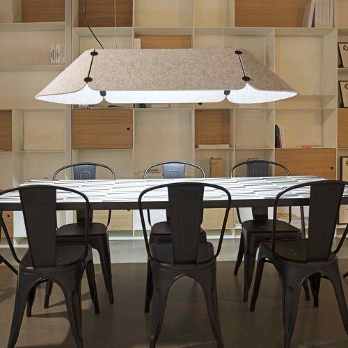 FARO Barcelona Pendelleuchte »Fonovia Büro-156cm Schallabsorbierend Grau«
