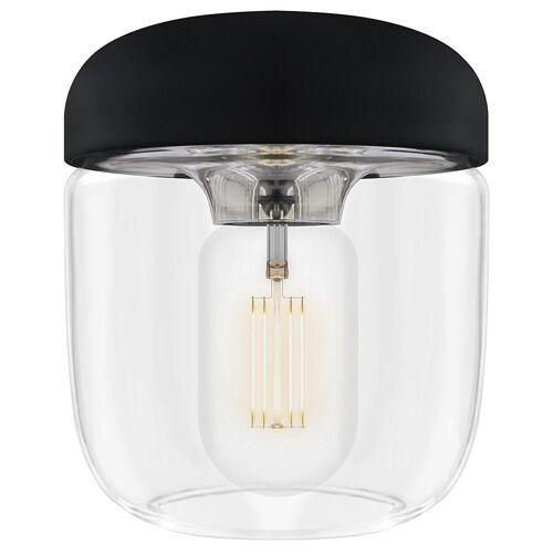 Umage Lampenschirm »/ VITA Acorn Lampenschirm schwarz + Stahl poliert 14 x 14 x 16 cm Lampe«