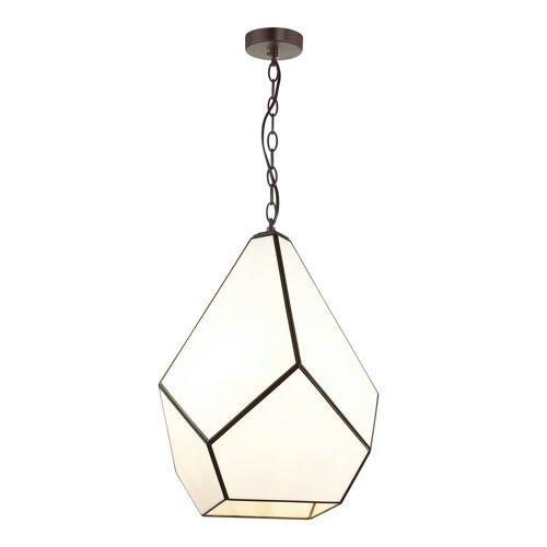 FAVOURITE Hängeleuchte »Eislager«, mit Glas im Tiffany-Stil