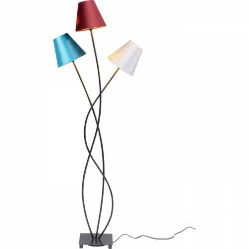 KARE Stehlampe »Stehleuchte Flexible Velvet Schwarz Tre«
