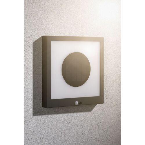 Paulmann LED Außen-Wandleuchte »Taija«, Solar Panel, mit Bewegungsmelder