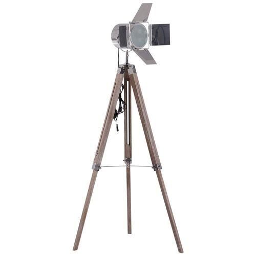HOMCOM Stehlampe »Tripod-Stehlampe in Scheinwerfer-Form«
