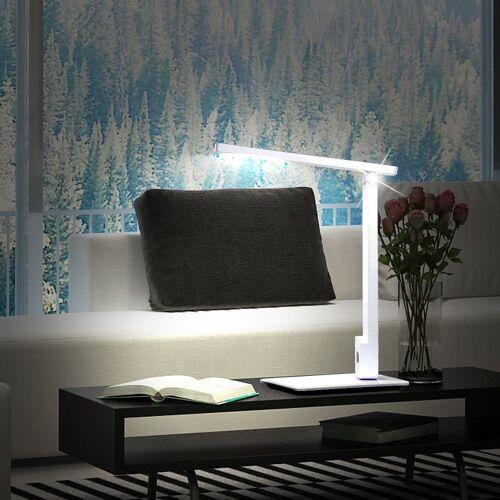 Esto Schreibtischlampe, Design LED Schreib Tisch Lese Lampe Arbeitszimmer Touch Dimmer Leuchte weiß 9722046