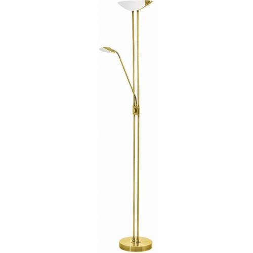 EGLO LED Stehlampe »BAYA LED«, messingfarben