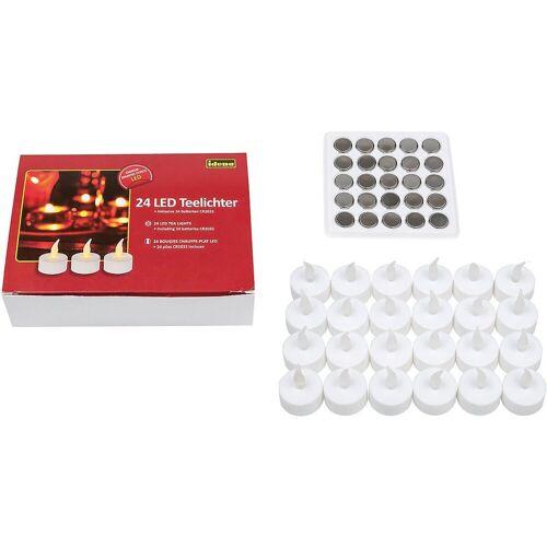 Idena Teelicht »LED Teelichter 24er inkl. Batterien«