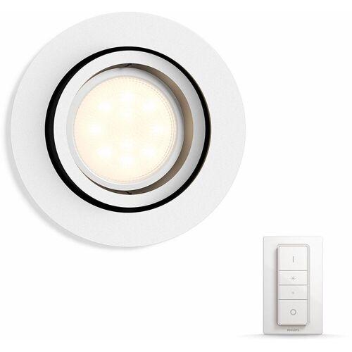 Philips Hue LED Einbaustrahler »Milliskin«, Smart Home