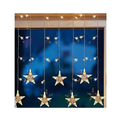 Hellum LED-Lichtervorhang »576351 LED-Sternenvorhang 39-flg.«