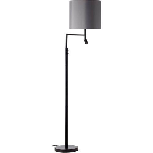my home Stehlampe »Loui«, Stehleuchte mit flexiblem Leselicht, getrennt schaltbar,Höhe 162 cm