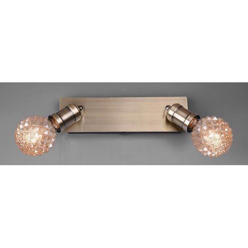 TRIO Leuchten Deckenleuchte »Carl«, Deckenlampe, messing