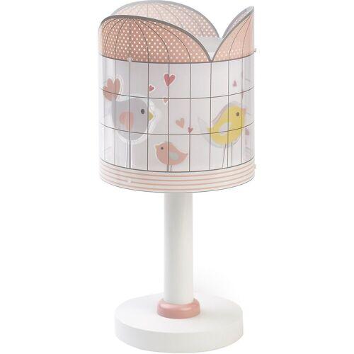 Dalber Nachttischlampe »Tischlampe Little Birds, rosa«
