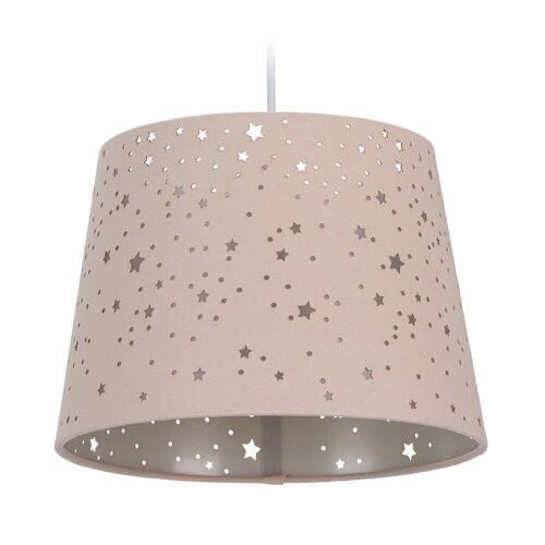 relaxdays Hängeleuchte »Kinderzimmerlampe Sterne«, Rosa