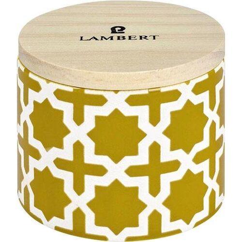 Lambert Duftkerze »Ebba«, gelb-weiß