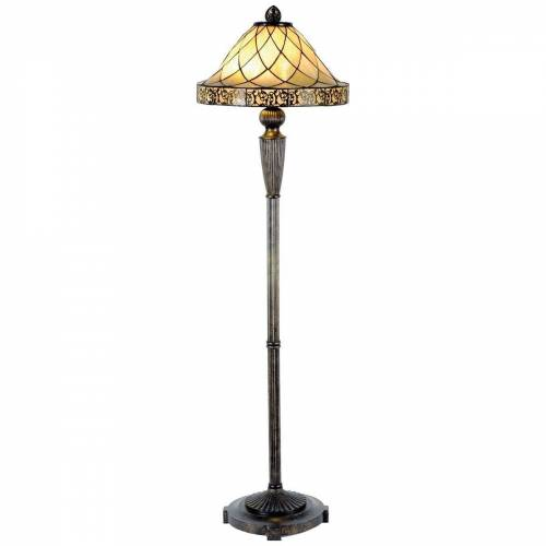 LumiLamp Stehlampe »Stehlampe Tiffany Ø 46*168 cm 2x E27 /«
