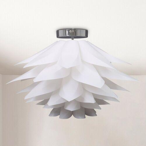 B.K.Licht LED Deckenleuchte »Aquila«, LED Deckenlampe Puzzle-Lampe DIY Blume E27 Wohnzimmer Kinderzimmer Ø51cm