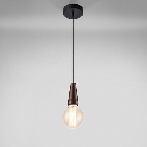 lux.pro Hängeleuchte, »Rerik« Retro Pendelleuchte E27 Lampenfassung