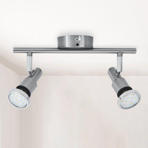 B.K.Licht LED Deckenleuchte »Aurel«, LED Badlampe IP44 Deckenstrahler Badezimmer GU10 Spot Decke Leuchte Lampe 5W