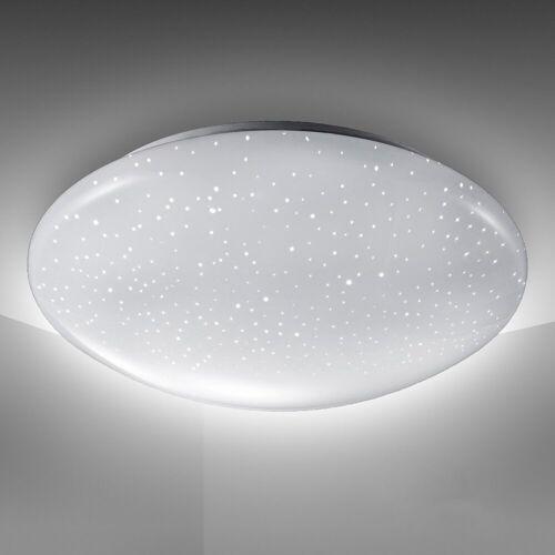 B.K.Licht LED Deckenleuchte »Astro«, LED Deckenlampe 12W 1200lm 4.000K Sternenlicht IP20 Ø 280mm