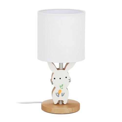 relaxdays Nachttischlampe »Hasen Nachttischlampe Kinder«