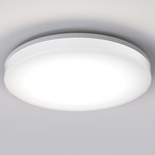 B.K.Licht LED Deckenleuchte, LED Deckenlampe 24W Bad-Lampen IP54 Badezimmer-Leuchte Deckenleuchte Küche Flur