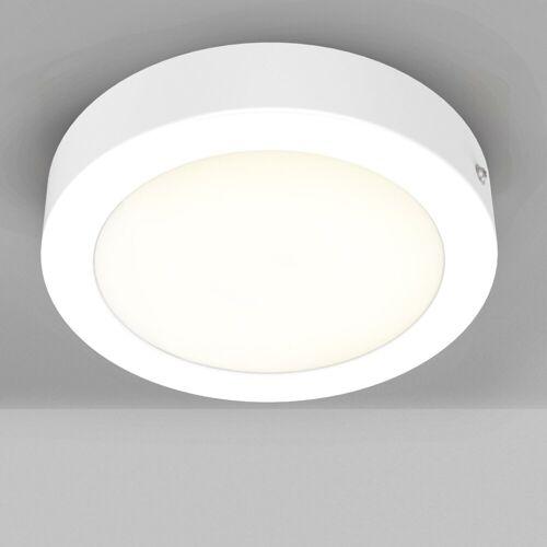B.K.Licht LED Aufbaustrahler »Garnet Weiß«, 12W LED Aufbaustrahler mit fest verbauter LED Platine