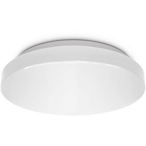 B.K.Licht LED Deckenleuchte, LED Deckenlampe Bad rund Badezimmer-Lampe flach IP44 Schlafzimmer Küche Flur 10W