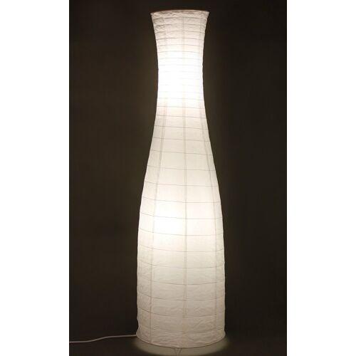 TRANGO LED Stehlampe, 1231L Design LED Reispapier Stehlampe *SWEDEN* Reispapierlampe *HANDMADE* Stehleuchte mit weißem Lampenschirm inkl. 2x E14 LED Leuchtmittel, Form: Rund, Höhe: 125cm, Wohnraumlampe, Standlampe