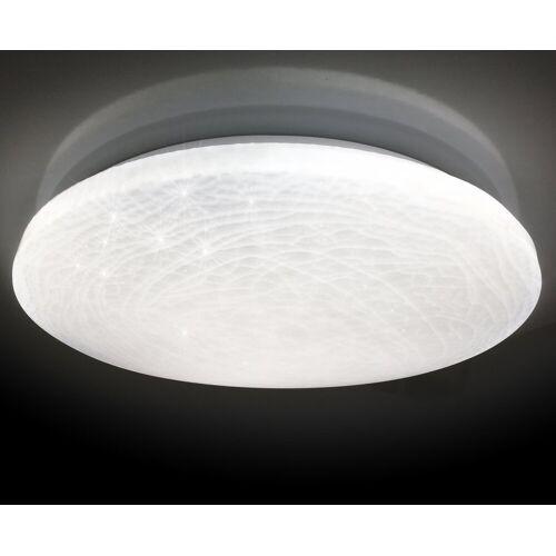 näve LED Deckenleuchte »Polaris«, Kristalleffekt