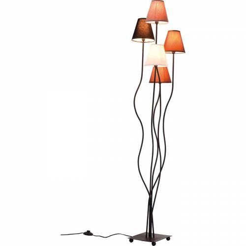 KARE Stehlampe »Stehlampe Flexible Mocca Cinque«