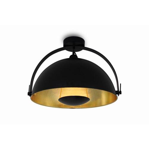 Kiom Deckenleuchte »Retro Deckenlampe Alona Ceil schwarz & gold Ø 45cm«