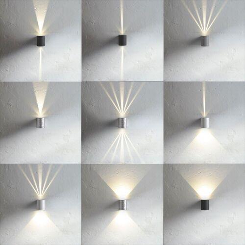 Licht-Trend Wandleuchte »Baleno LED mit Lichtfilter schwarz«