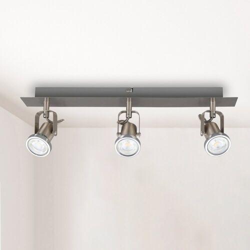B.K.Licht LED Deckenleuchte, LED Spot-Lampe Design-Deckenstrahler moderne Deckenlampe Spotlights GU10