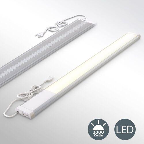 B.K.Licht LED Unterbauleuchte, LED Unterbaulampe Lichtleiste Küchen-Lampe Beleuchtung inkl. 10W