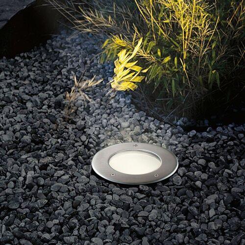 s.LUCE LED Gartenleuchte »Level Edelstahl rund IP67«