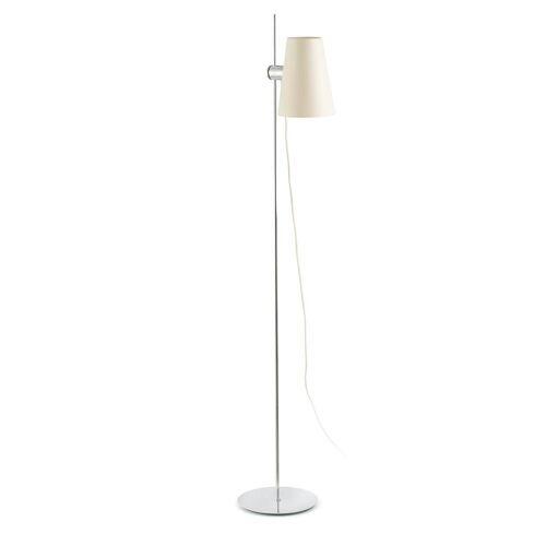 FARO Barcelona Stehlampe »LUPE IP20 Chrom, Weiß«