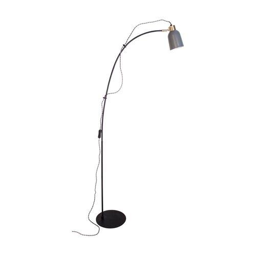 By Rydens Stehlampe »Lemur Grau mit Textilkabel«