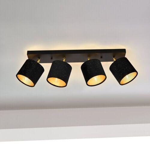 lux.pro Deckenleuchte, »Wellington« - mit 4 runden Lampenschirmen