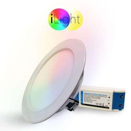 s.LUCE LED Einbaustrahler »iLight LED Ø18cm RGB«