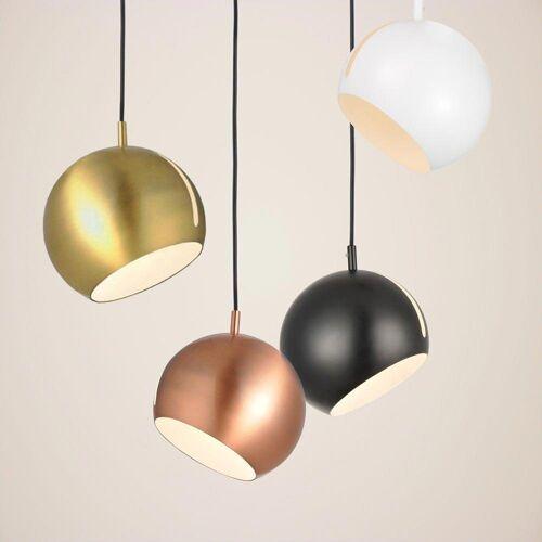 s.LUCE Pendelleuchte »Ball verstellbar Ø 20cm«, Gold