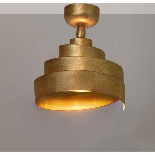 Holländer LED Deckenstrahler »Deckenstrahler Banderola Eisen Gold«