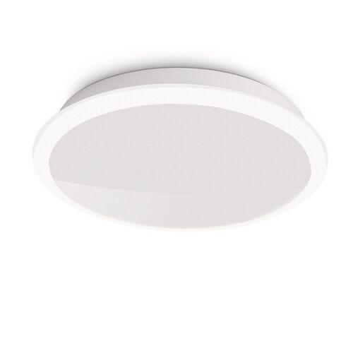 Qualitaetsware24 Deckenleuchte »Philips LED Deckenleuchte Denim Modern Deckenlampe Weiß«
