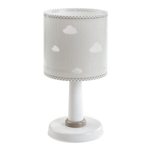 Dalber Nachttischlampe »Tischlampe Weltkarte«, weiß/grau