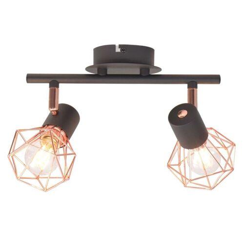 vidaXL Deckenleuchten »Deckenlampe mit 2 LED-Glühlampen 8 W«