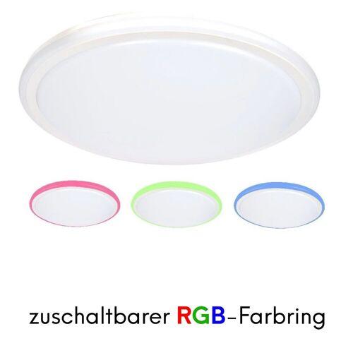 kalb LED Deckenleuchte »LED Deckenleuchte Farbwechsel RGB Deckenleuchte Designleuchte Wohnzimmer«