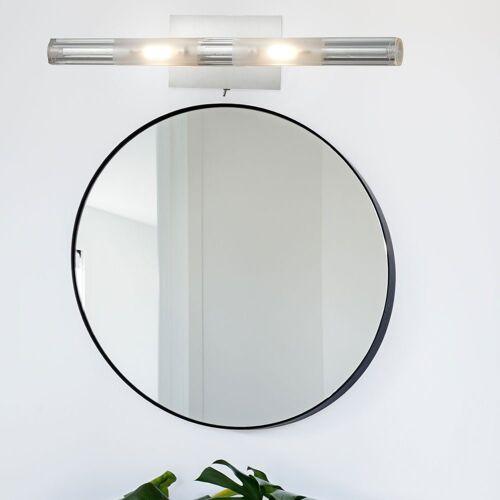 Esto Wandleuchte, LED 6 Watt Wand Strahler Beleuchtung Treppenhaus Flur Glas Schalter Leuchte 780035