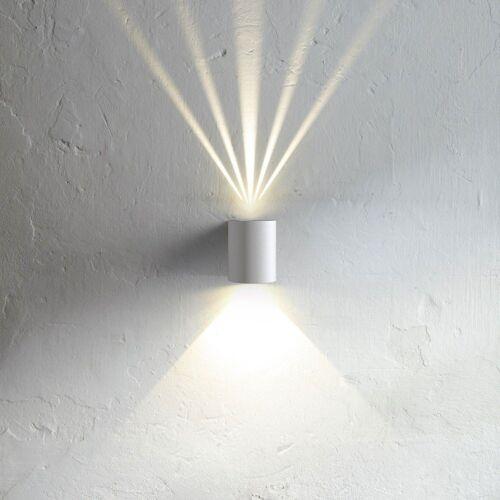 Licht-Trend Wandleuchte »Baleno weiss mit Lichtfiltern«