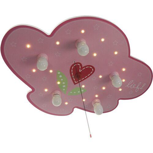 NIERMANN Deckenleuchten »Deckenleuchte Wolke, Lief for Boys«, rosa