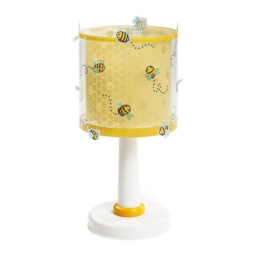 Dalber Nachttischlampe »Tischlampe Weltkarte«, gelb