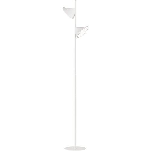WOFI Stehlampe »CHARA«, dimmbar, 3 Stufen, Kabelschalter, weiß