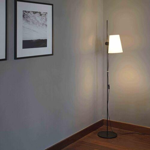 FARO Barcelona Stehlampe »Lupe 150cm Schwarz ohne Schirm«