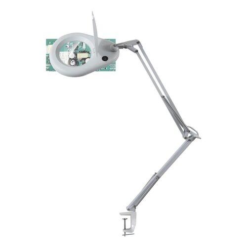 unilux LED Klemmleuchte »Zoom«, mit Lupenfunktion